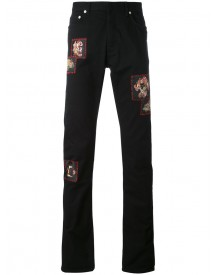 Dior Homme - Embroidered Jeans - Men - Cotton/spandex/elastane - 31 afbeelding