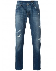 Dolce & Gabbana - Distressed Jeans - Men - Cotton - 48 afbeelding