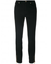 Dolce & Gabbana - Slim Fit Jeans - Women - Cotton/calf Leather/acrylic/viscose - 38 afbeelding