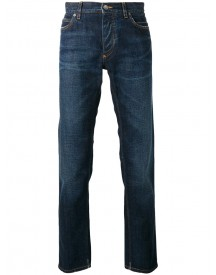 Dolce & Gabbana - Straight Jeans - Men - Silk/cotton/polyester/glass - 46 afbeelding