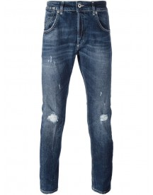 Dondup - 'conway' Distressed Jeans - Men - Cotton/polyester/spandex/elastane - 36 afbeelding