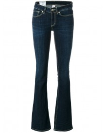 Dondup - Fitted Flared Jeans - Women - Cotton/polyester/spandex/elastane - 26 afbeelding