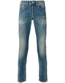 Dondup - Folded Hem Denim Skinny Jeans - Men - Cotton/polyester - 34 afbeelding