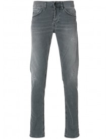 Dondup - Ripped Slim-fit Jeans - Men - Cotton/polyester/spandex/elastane - 33 afbeelding