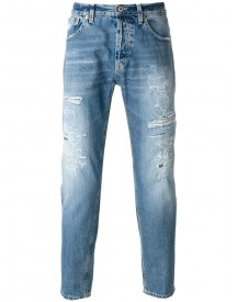 Dondup - Ripped Straight-leg Jeans - Men - Cotton/polyester - 36 afbeelding