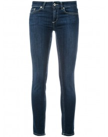 Dondup - Skinny Jeans - Women - Cotton/polyester/spandex/elastane - 32 afbeelding
