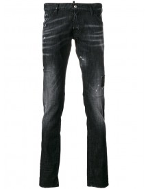 Dsquared2 - Clement Jeans - Men - Cotton/polyester/spandex/elastane - 48 afbeelding