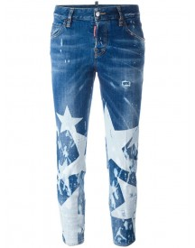 Dsquared2 - Cool Girl Big Star Jeans - Women - Cotton/spandex/elastane - 40 afbeelding