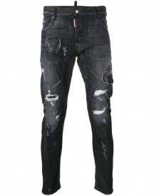 Dsquared2 - Cool Guy Distressed Jeans - Men - Cotton/spandex/elastane/polyester - 48 afbeelding