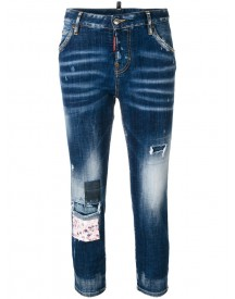 Dsquared2 - Cropped Cool Girl Jeans - Women - Cotton/spandex/elastane - 36 afbeelding