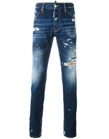 Dsquared2 - Distressed Cool Guy Jeans - Men - Cotton - 50 afbeelding