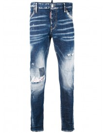 Dsquared2 - Distressed Jeans - Men - Cotton/polyester/spandex/elastane - 42 afbeelding