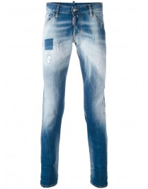 Dsquared2 - Distressed Jeans - Men - Cotton/spandex/elastane - 48 afbeelding