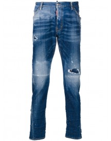 Dsquared2 - Distressed Kenny Twist Jeans - Men - Cotton/spandex/elastane - 44 afbeelding
