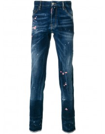Dsquared2 - Embroidered Cool Guy Jeans - Men - Cotton/polyester/spandex/elastane - 50 afbeelding