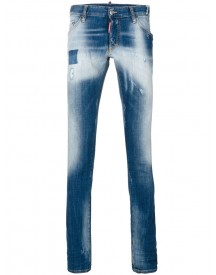 Dsquared2 - Faded Long Clement Jeans - Men - Cotton/spandex/elastane - 50 afbeelding