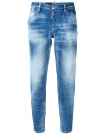 Dsquared2 - Glam Head Jeans - Women - Cotton/polyester/spandex/elastane - 36 afbeelding