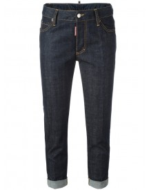 Dsquared2 - Glam Head Jeans - Women - Cotton/polyester/spandex/elastane - 44 afbeelding