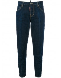 Dsquared2 - Hockney Jeans - Women - Cotton - 44 afbeelding