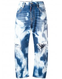 Dsquared2 - Kawaii Cropped Jeans - Women - Cotton - 38 afbeelding