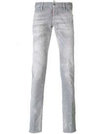 Dsquared2 - Long Clement Jeans - Men - Cotton/polyester/spandex/elastane - 44 afbeelding