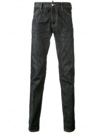 Dsquared2 - Loose Fit Jeans - Men - Cotton/calf Leather/polyester/spandex/elastane - 52 afbeelding