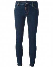 Dsquared2 - Skinny Jeans - Women - Cotton/spandex/elastane - 44 afbeelding