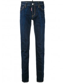 Dsquared2 - Slim Jeans - Men - Cotton/leather/polyester/copper - 48 afbeelding