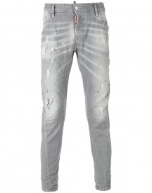 Dsquared2 - Tidy Biker Jeans - Men - Cotton/polyester/spandex/elastane - 52 afbeelding