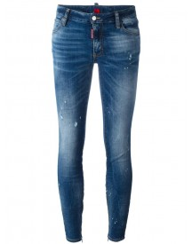 Dsquared2 - Twiggy Skinny Jeans - Women - Cotton/polyester/spandex/elastane - 42 afbeelding
