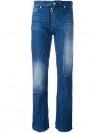 Each X Other Other - Patchwork Straight-leg Jeans - Women - Cotton - 30 afbeelding