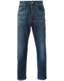 Eleventy - Tapered Cropped Jeans - Men - Cotton/spandex/elastane - 36 afbeelding