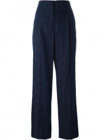 Emilio Pucci - Straight Denim Trousers - Women - Cotton/linen/flax - 40 afbeelding