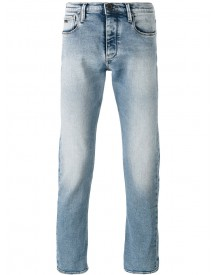 Emporio Armani - Straight Leg Faded Jeans - Men - Cotton/spandex/elastane - 30 afbeelding