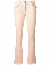 Etro - Ruffled Pockets Jeans - Women - Cotton/spandex/elastane - 29 afbeelding