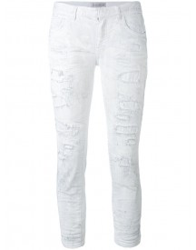 Faith Connexion - Cropped Jeans - Women - Cotton/spandex/elastane - 25 afbeelding