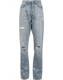 Faith Connexion - Distressed Boyfriend Jeans - Women - Cotton - 26 afbeelding