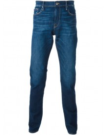 Frame Denim - Distressed Straight Fit Jeans - Men - Cotton/polyester/spandex/elastane - 36 afbeelding