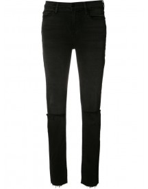 Frame Denim - 'le High' Straight Leg Jeans - Women - Cotton/polyester/spandex/elastane/modal - 24 afbeelding