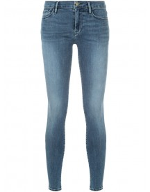 Frame Denim - Skinny Denim Jeans - Women - Cotton - 24 afbeelding