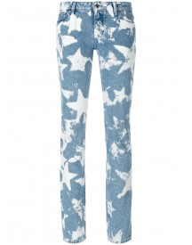 Givenchy - Bleached Star Skinny Jeans - Women - Cotton/polyester - 36 afbeelding