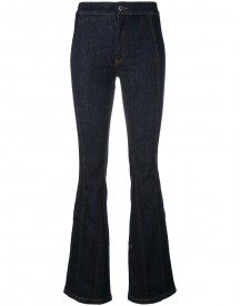 Givenchy - Classic Fitted Bootcut Jeans - Women - Cotton/polyester/spandex/elastane - 42 afbeelding