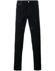 Givenchy - Contrast Panel Jeans - Men - Cotton/polyester - 33 afbeelding