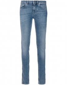 Givenchy - Star Panel Skinny Jeans - Women - Cotton/spandex/elastane - 38 afbeelding