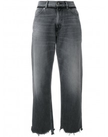 Golden Goose Deluxe Brand - Cropped Stonewashed Jeans - Women - Cotton - 27 afbeelding