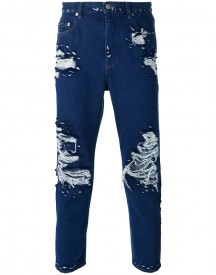 Golden Goose Deluxe Brand - Denim New Super Happy - Men - Cotton - 33 afbeelding