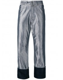 Golden Goose Deluxe Brand - Komo Denim Trousers - Women - Cotton/polyester/viscose - 30 afbeelding
