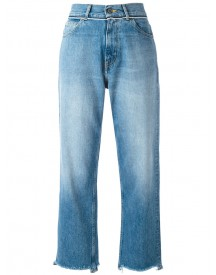 Golden Goose Deluxe Brand - Stonewashed Cropped Jeans - Women - Cotton - 29 afbeelding