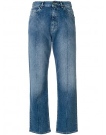Golden Goose Deluxe Brand - Stonewashed Cropped Jeans - Women - Cotton/polyurethane - 29 afbeelding