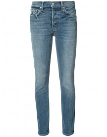 Grlfrnd - Karolina High Rise Jeans - Women - Cotton/elastodiene - 27 afbeelding